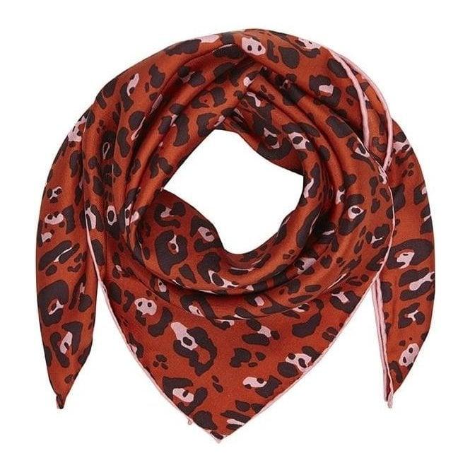 Bella Ballou LEO small silk scarf