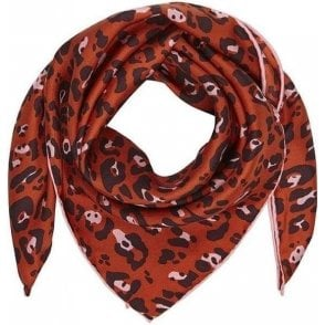 LEO small silk scarf