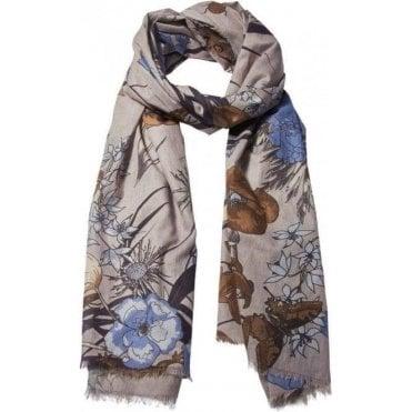 LIVING GARDEN Cotton scarf
