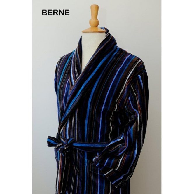 Bown The Berne Velour Dressing Gown