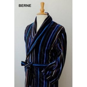 The Berne Velour Dressing Gown