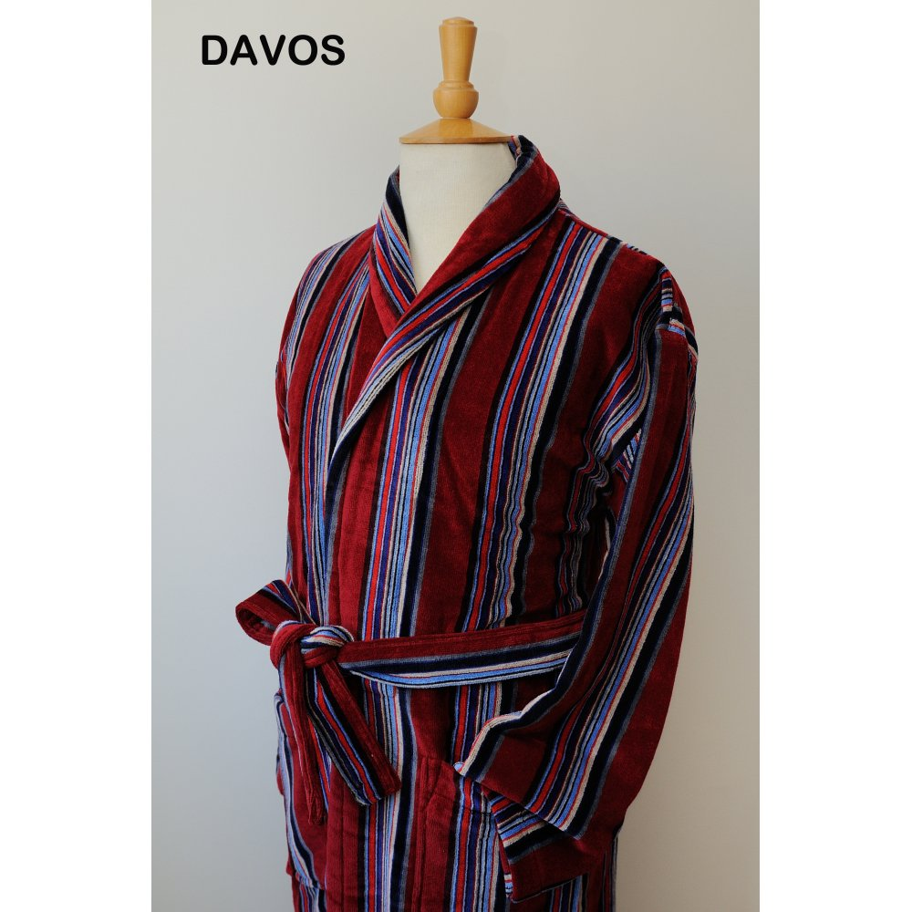 Bown Davos Dressing Gown - Mens Nightwear: O&C Butcher