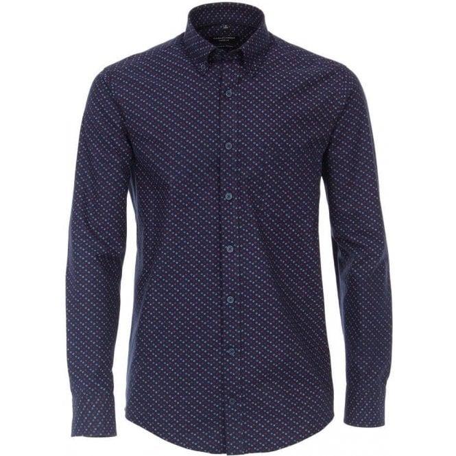 Casa Moda Fashionable Print Shirt