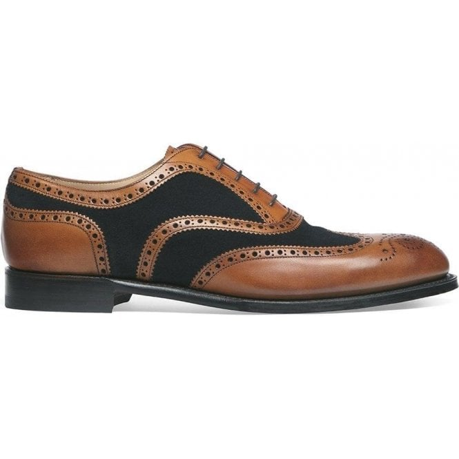 Cheaney Shoes Edwin Two Tone Oxford Brogue