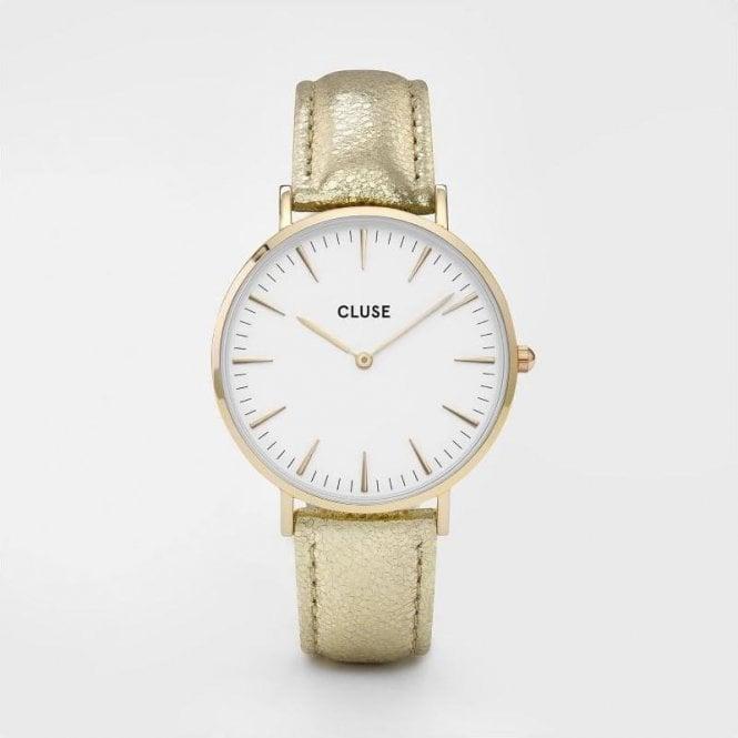 CLUSE La Bohème Gold White/Gold Metallic