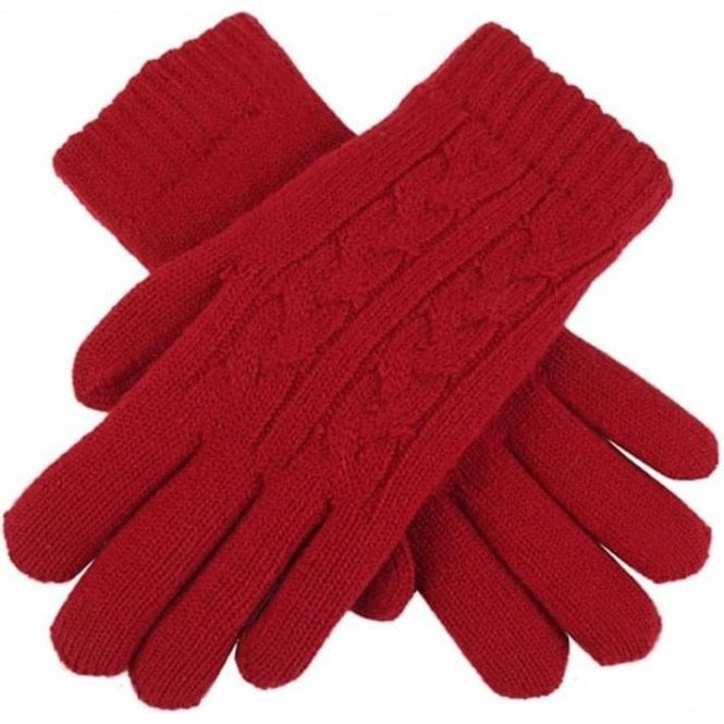 Dents Cable Knit Gloves