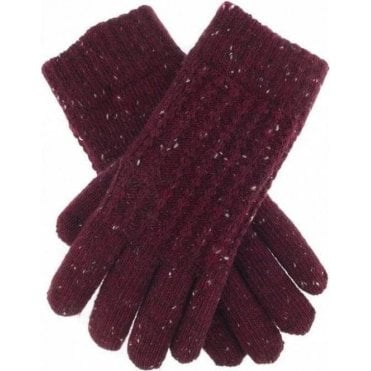 Cable Knit Marl Gloves