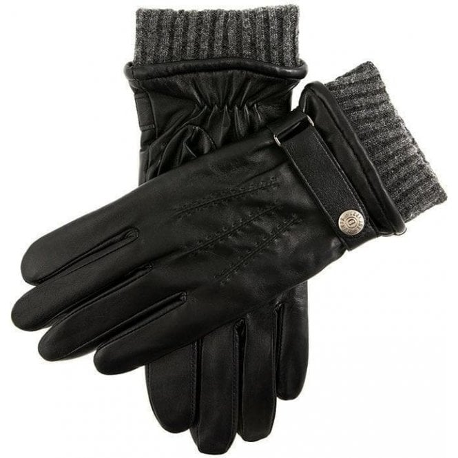 Dents Henley - Men's Warm Lined Touchscreen Leather Gloves