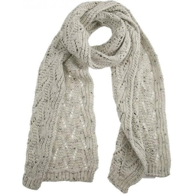 Dents Lace Knit Scarf