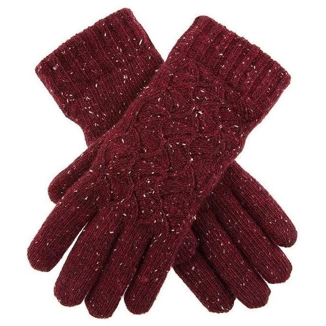 Dents Women's Lace Knit Gloves