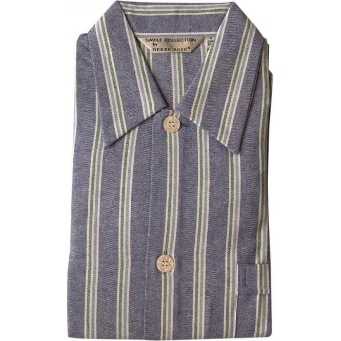 Derek Rose Davos 70 Night Shirt