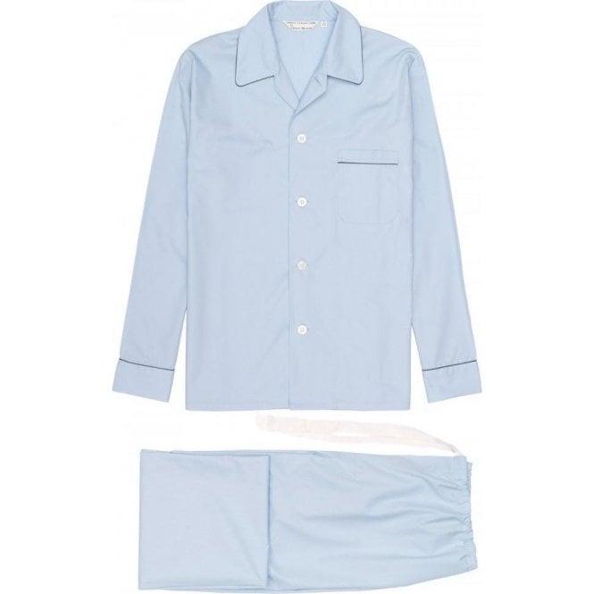 Derek Rose Men's Classic Fit Piped Pyjamas