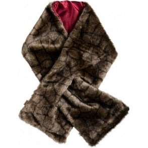 Altamont Faux Fur Wrap