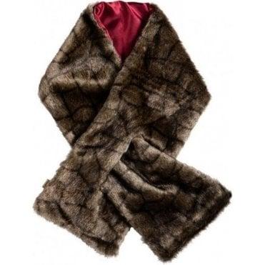 Altamont Faux Fur Wrap