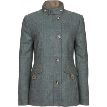 Heatherbell Ladies Tweed Utility Jacket