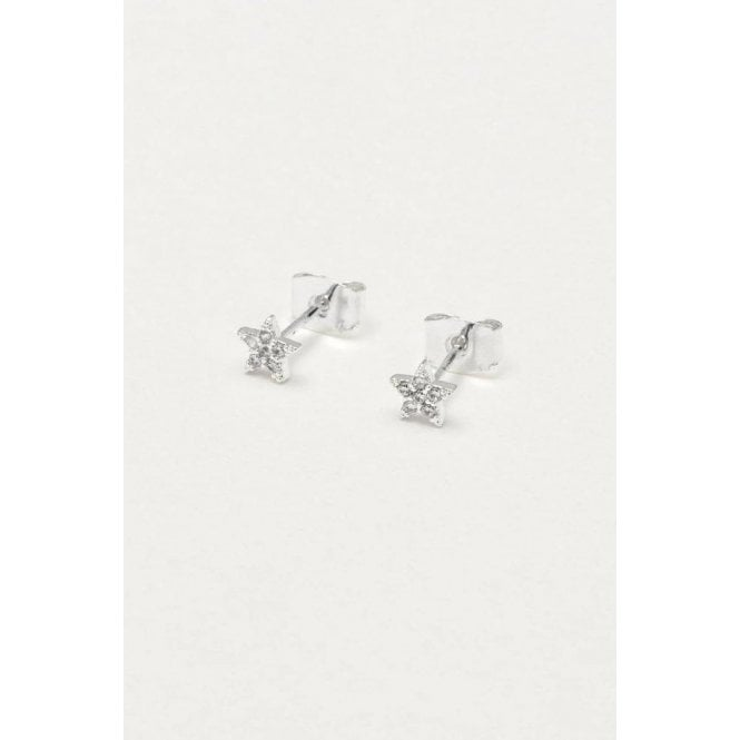 Estella Bartlett CZ Star Earrings
