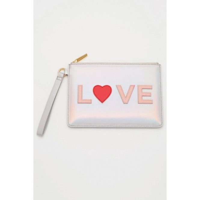 Estella Bartlett Love Applique Medium Pouch
