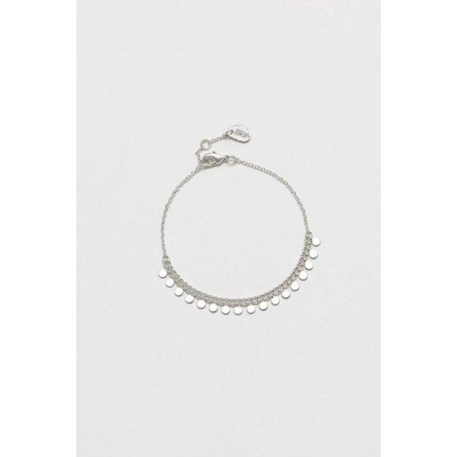Estella Bartlett Multi Disc Chain Bracelet