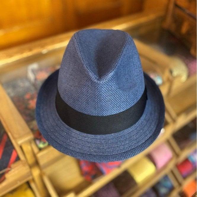 Failsworth Straw Trilby Hat