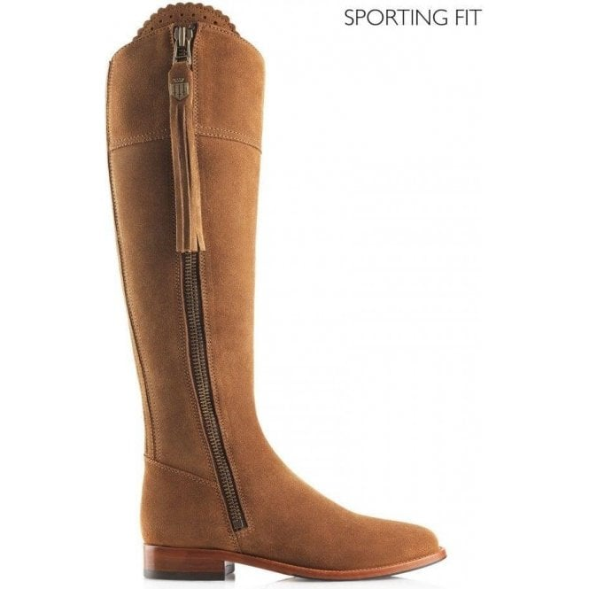 Fairfax & Favor The Regina Sporting Fit Suede Boot