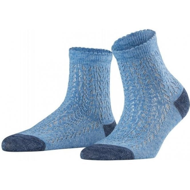 Falke Denim Crochet Women Socks
