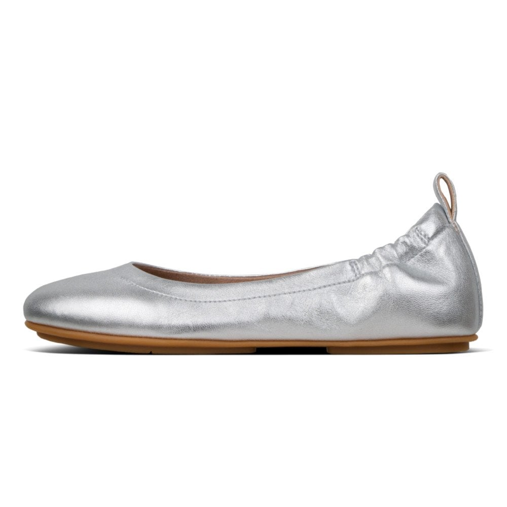 5a507ab6f68ef Fitflop ALLEGRO™ METALLIC LEATHER BALLERINAS - Womens Flats: O&C Butcher