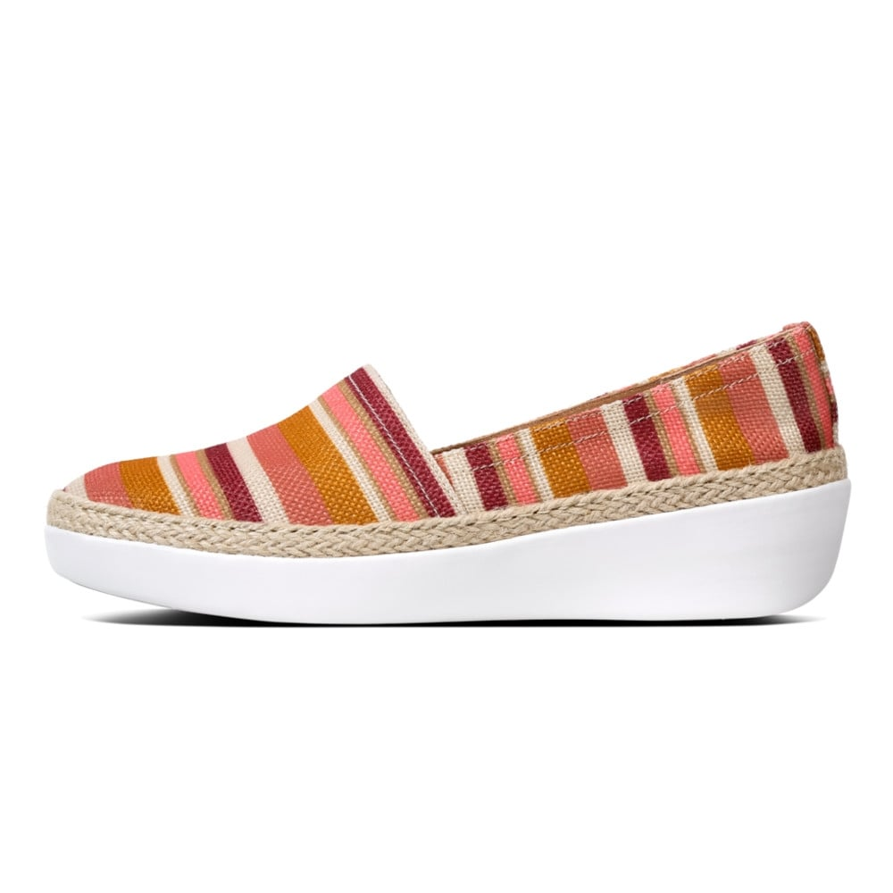 98b660fe722639 Fitflop CASA™ LOAFERS - STRIPEY - Womens Flats  O C Butcher