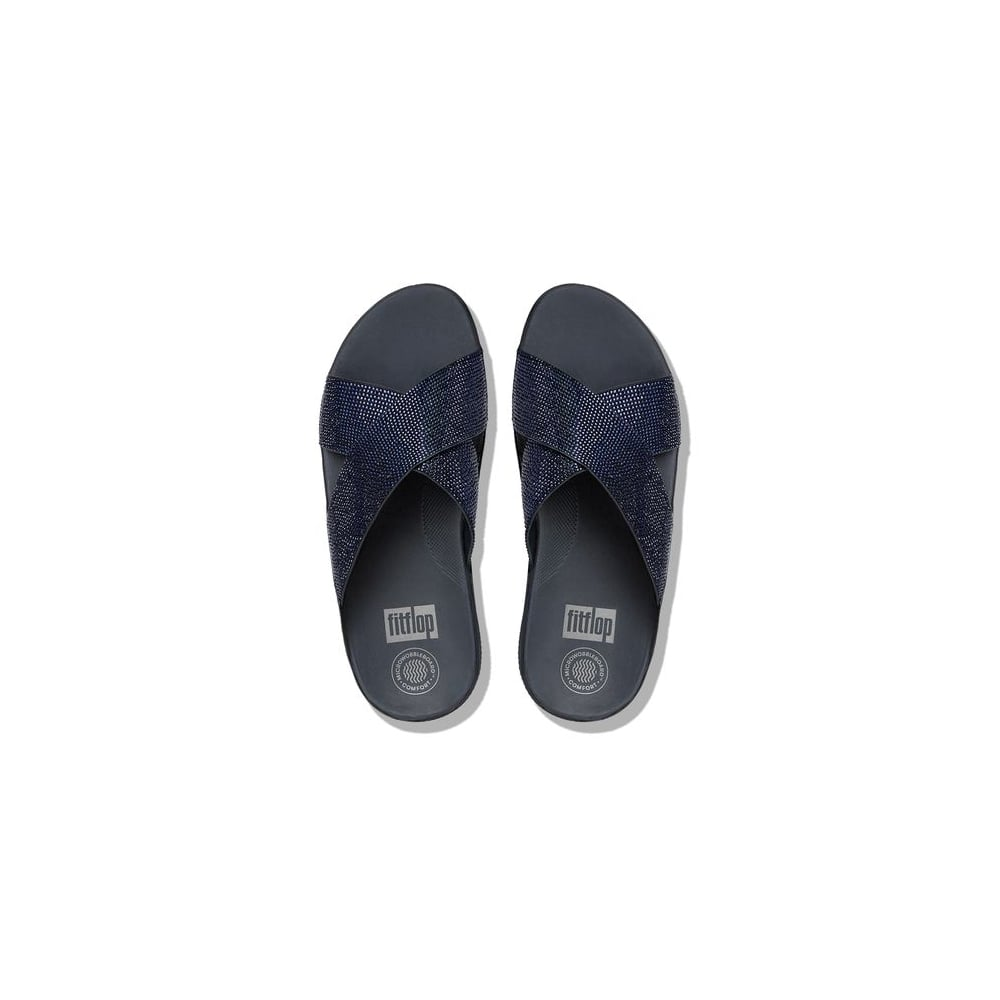 Fitflop Crystall Slide Sandals Womens Sandals O Amp C Butcher