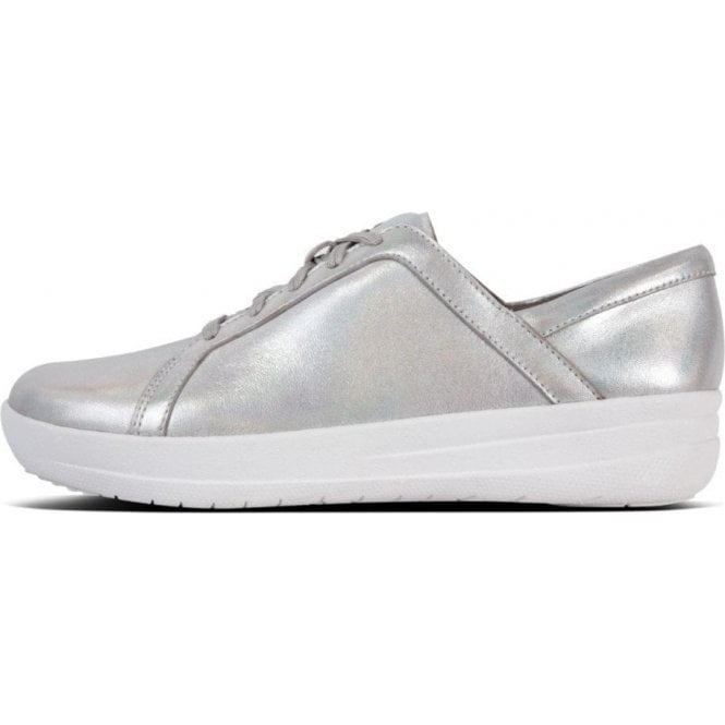 Fitflop F-SPORTY™ II Iridescent Leather Lace-Up Sneakers