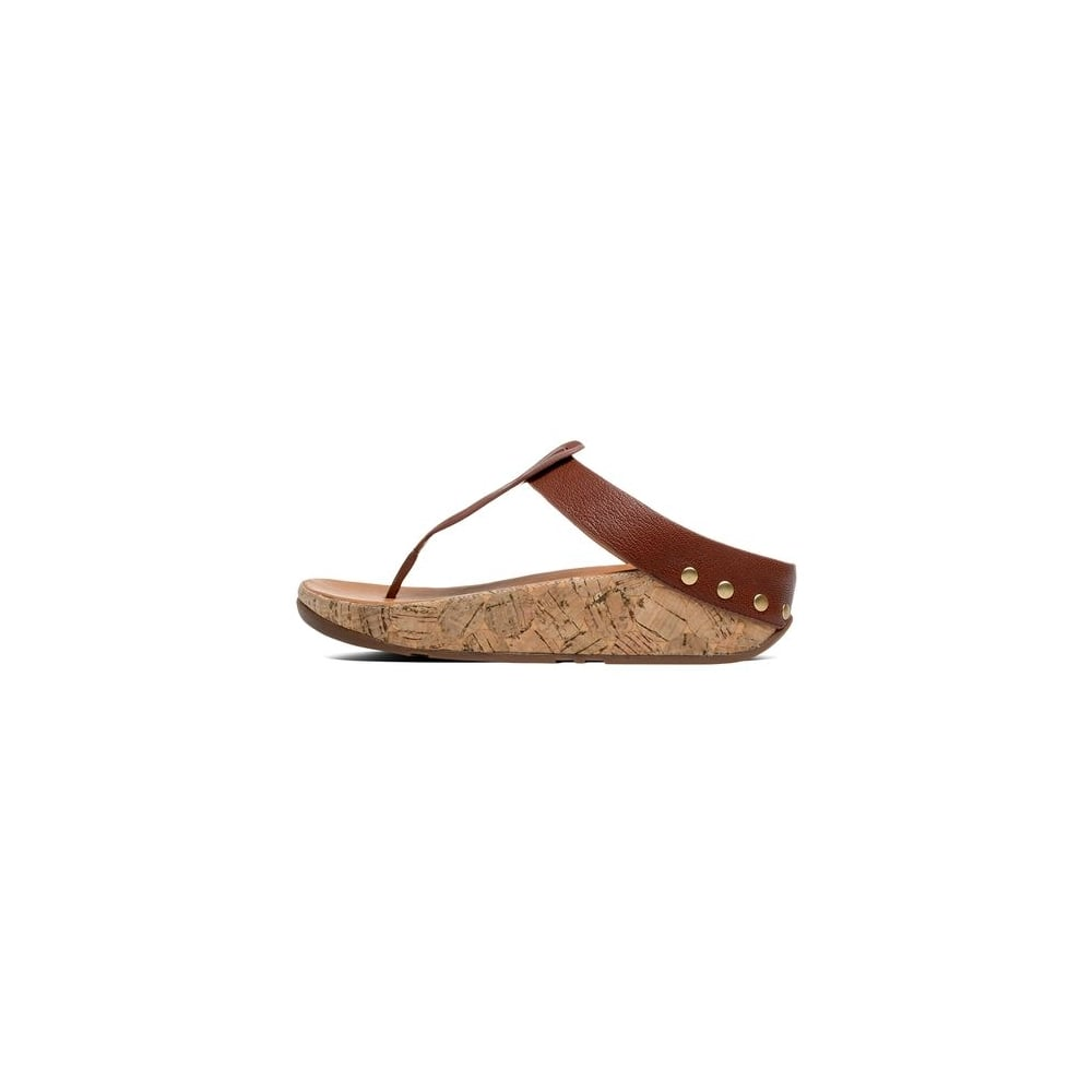 d87af59ed Fitflop IBIZA™ CORK LEATHER FLIP FLOPS - Women Latest Products ...