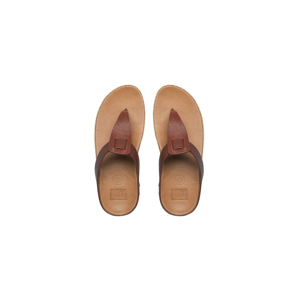 308cf4382 Fitflop IBIZA™ CORK LEATHER FLIP FLOPS - Women Latest Products ...