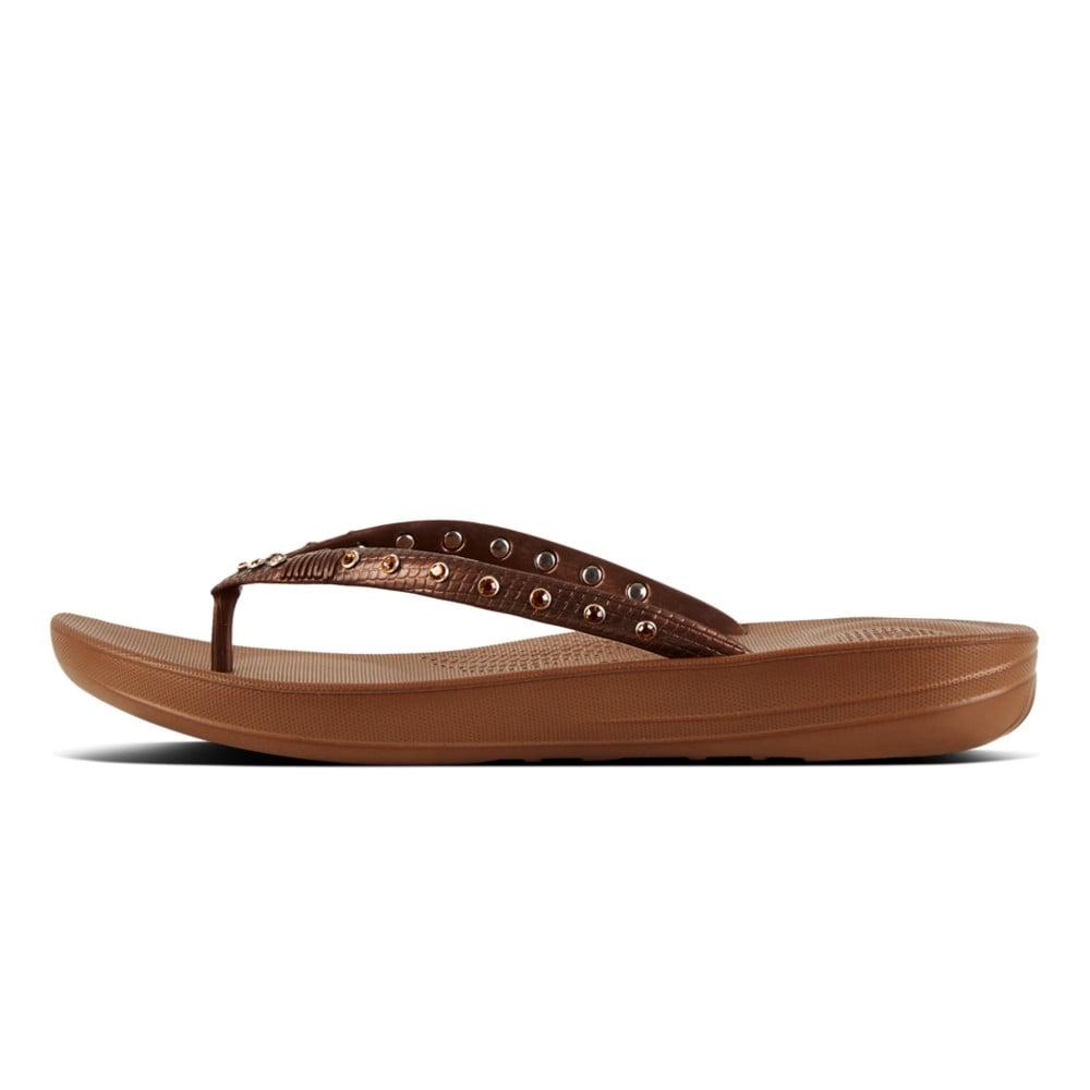 4cc80503cae652 Fitflop IQUSHION™ ERGONOMIC FLIP FLOPS - Womens Sandals  O C Butcher