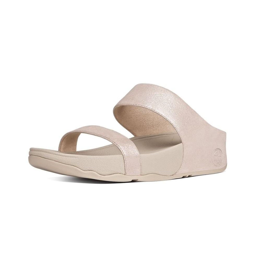 Fitflop Lulu Shimmersuede Slide Sandals Fitflop Latest