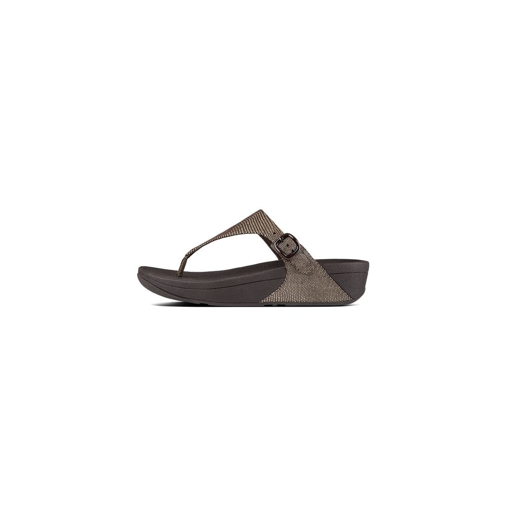 abfb75a56e31 Fitflop The Skinny™ Lizard-Print Toe-Thong Sandals - Womens Sandals ...