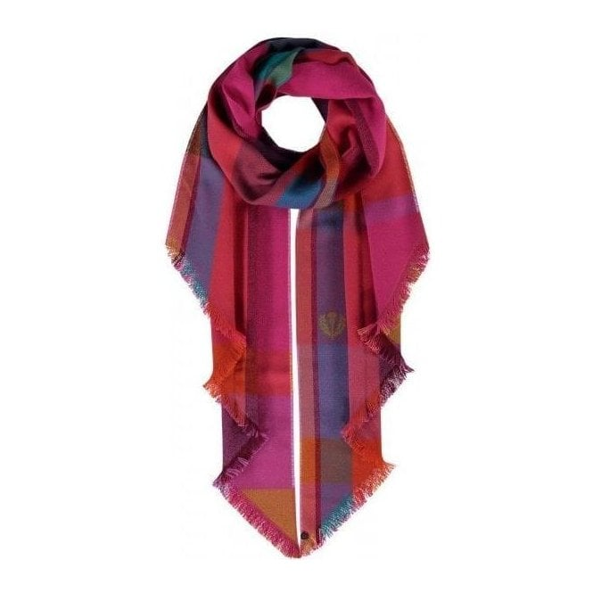 Fraas Checked Design Scarf