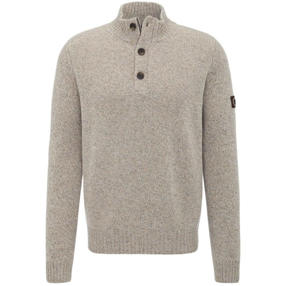 Fynch Hatton 1 4 Button Jumper - Mens Knitwear  O C Butcher aa7916aa0c8e