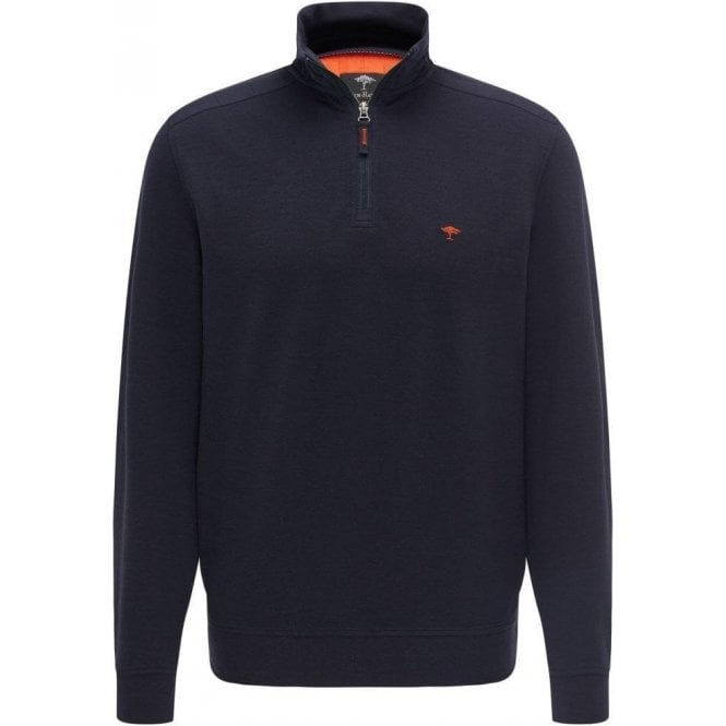 Fynch Hatton 1/4 Zip Troyer Style Pullover