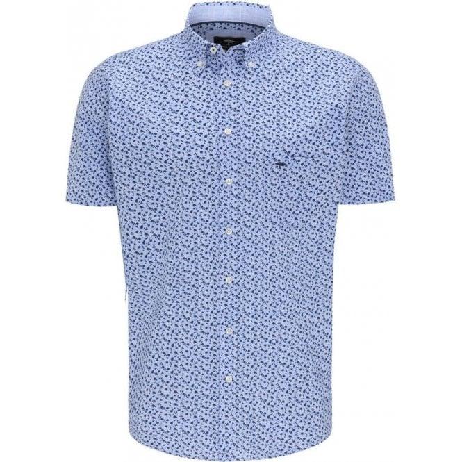 Fynch Hatton Casual Fit Short Sleeve Shirt