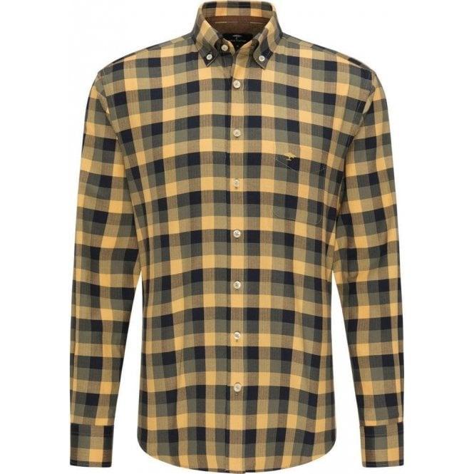 Fynch Hatton Checkered Flannel Shirt