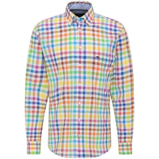 Fynch Hatton Cotton Check Shirt
