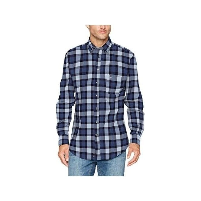 Fynch Hatton Flannel Combi Check Shirt