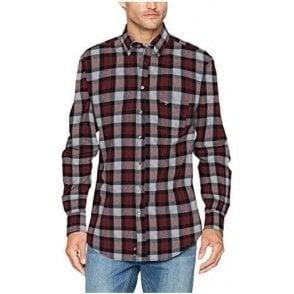 Flannel Combi Check Shirt