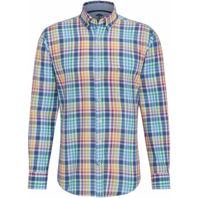 Fynch Hatton Patterned Cotton Shirt