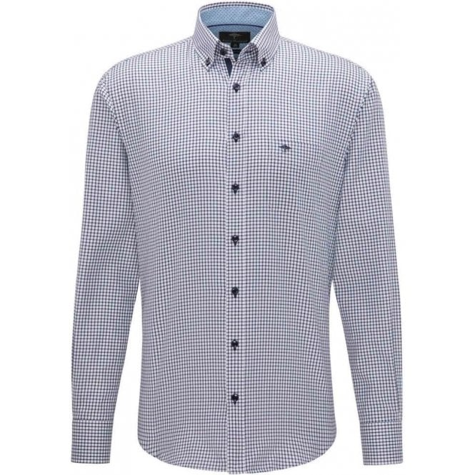 Fynch Hatton Patterned Twill Shirt