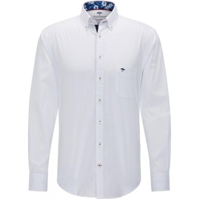 Fynch Hatton Shirt with Button-Down Collar