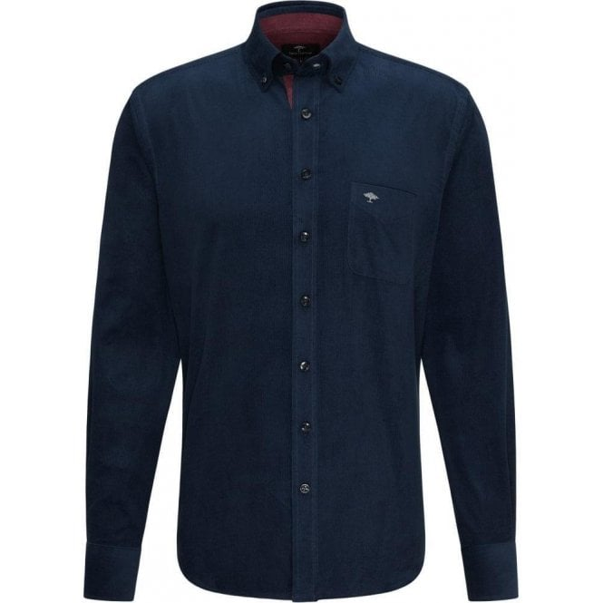 Fynch Hatton Supersoft Cotton Corduroy Shirt