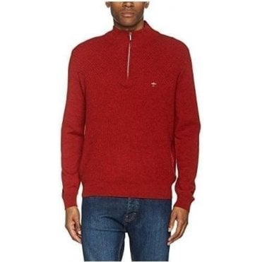 Troyer-Zip, Front Structure Mix Jumper