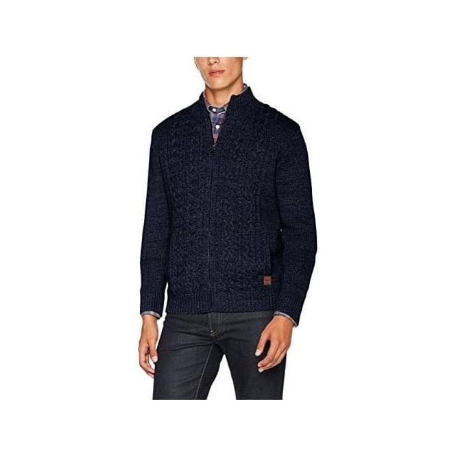 Fynch Hatton Zip Cardigan