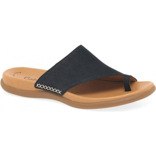 Gabor Lanzarote Ladies Leather Toe Post Sandals