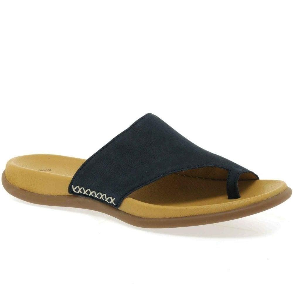 19a2589e2862 Gabor Lanzarote Toe Loop Womens Mules - Womens Sandals  O C Butcher